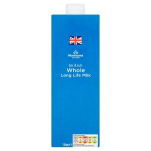Morrisons British UHT Whole Milk-0