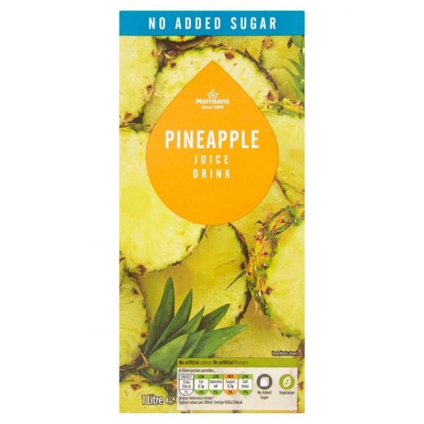 Morrisons Pineapple Juice from Concentrate-16053