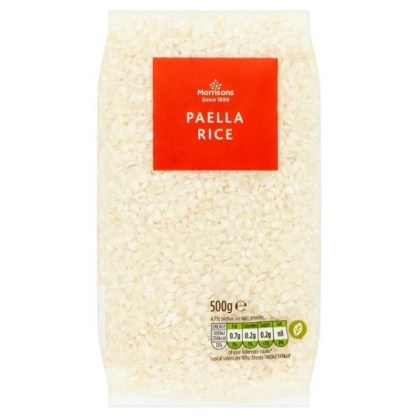 Morrisons Paella Rice-0