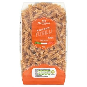 Morrisons Wholewheat Fusilli-0