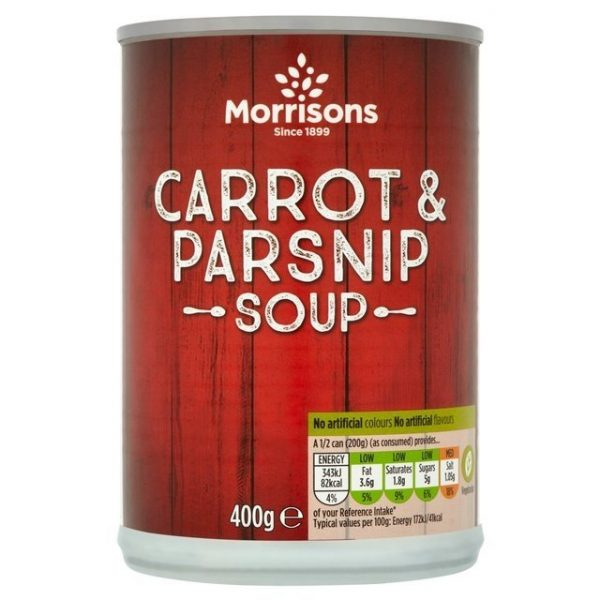 Morrisons Carrot & Parsnip Soup-0