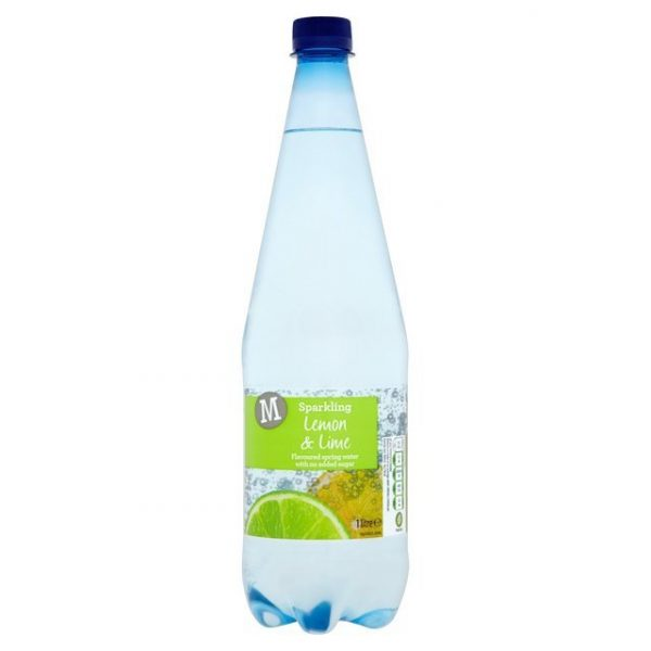 Morrisons Sparkling Spring Water Lemon & Lime-16005