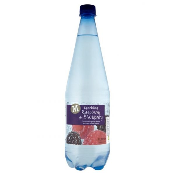 Morrisons Sparkling Spring Water Raspberry & Blackberry-0