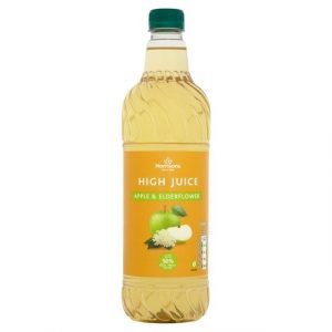 Morrisons Apple & Elderflower High Juice-0