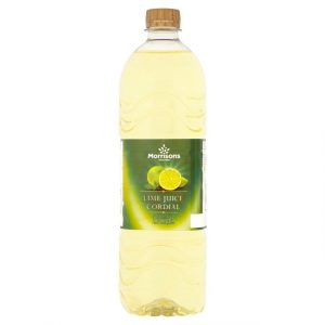 Morrisons Lime Cordial-0