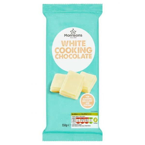 Morrisons Cooking White Chocolate-0