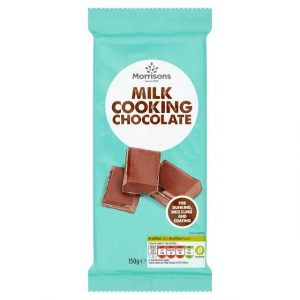 Morrisons Cooking Milk Chocolate-0