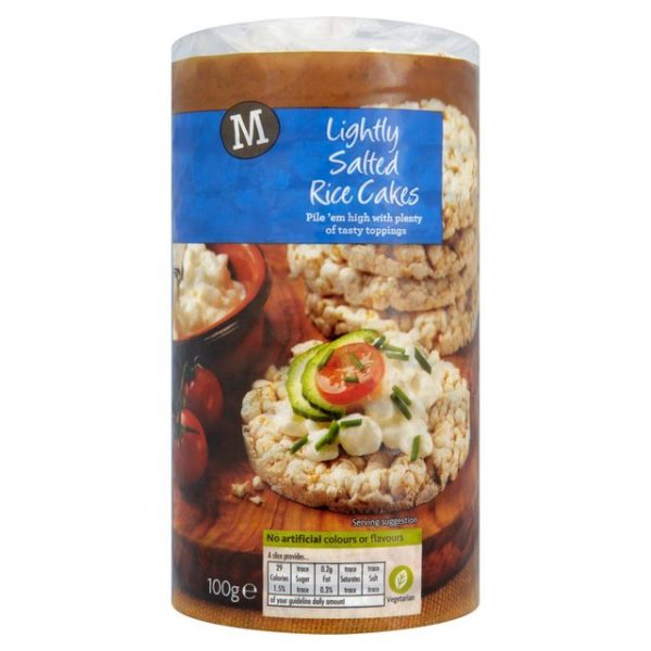 Morrisons Lightly Salted Rice Cakes-15597
