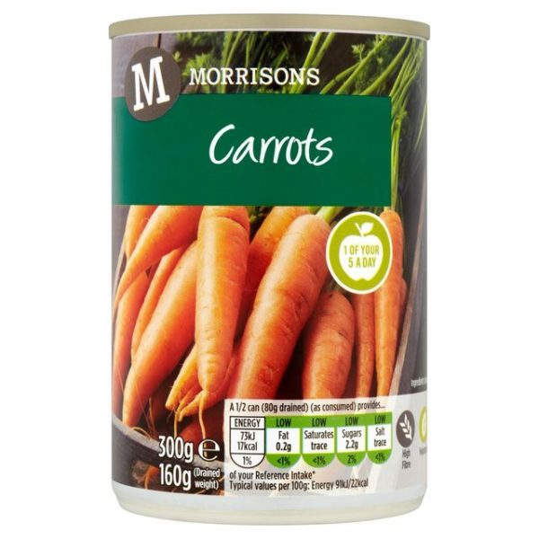 Morrisons Whole Carrots-15168
