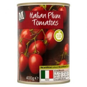 Morrisons Peeled Plum Tomatoes-15126