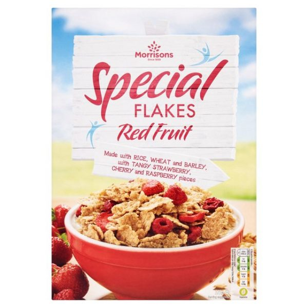Morrisons Red Fruit Special Flakes-0