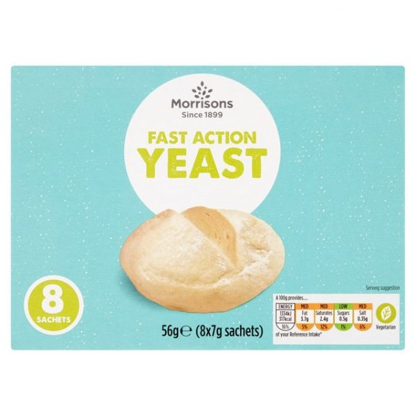 Morrisons Fast Action Yeast Sachets-16301