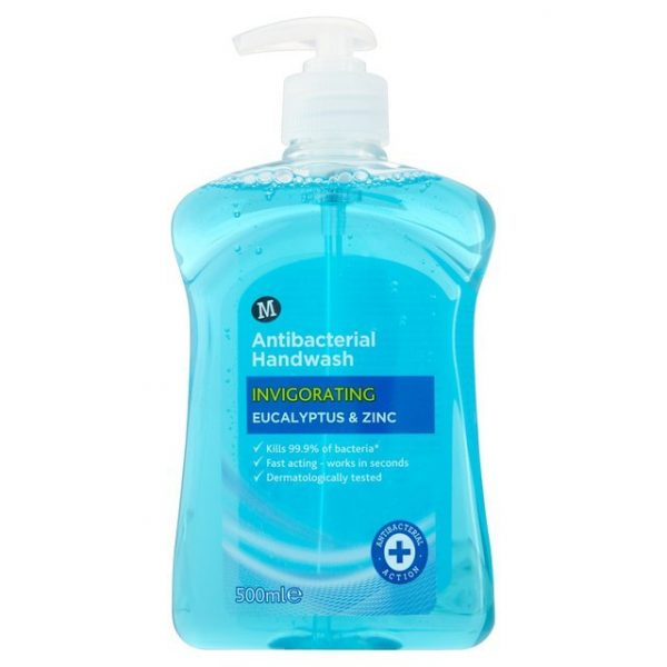 Morrisons Invigorating Anti-Bacterial Hand Wash-14993