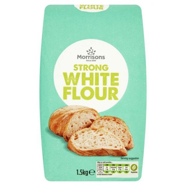 Morrisons Strong White Flour-16340