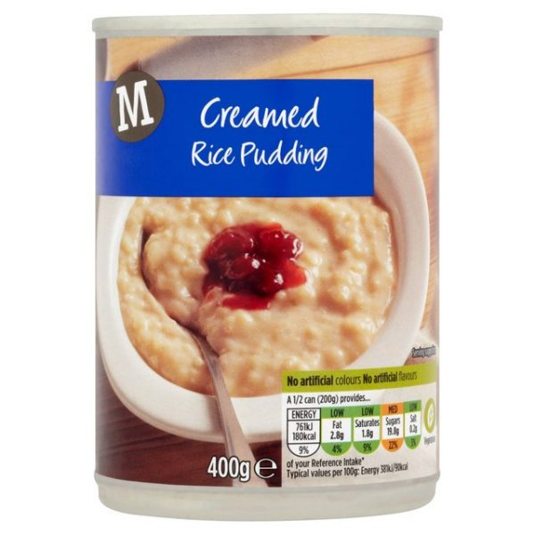 Morrisons Creamed Rice Pudding-16235