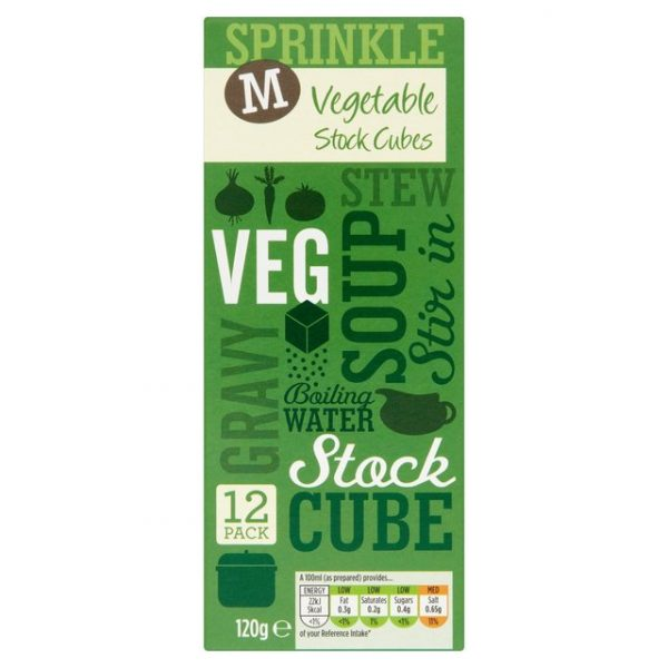 Morrisons Stock Cubes Vegetable-15261