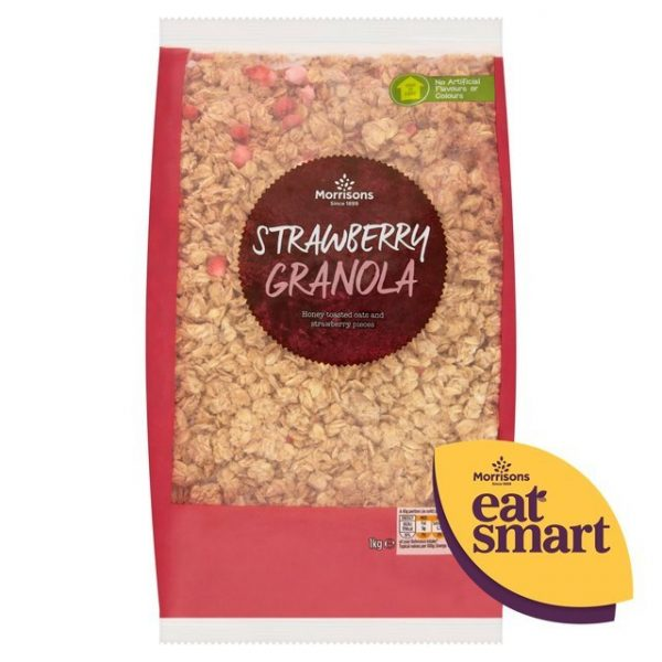 Morrisons Granola Strawberry-16185