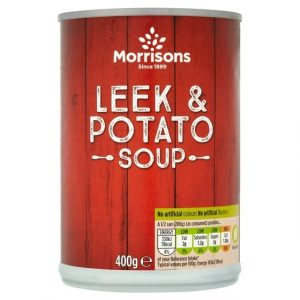 Morrisons Leek & Potato Soup-0