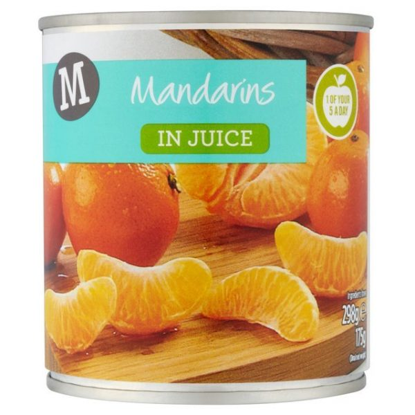 Morrisons Mandarins In Juice-15096