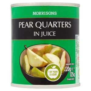 Morrisons Pear halves In Juice-0