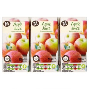 Morrisons Apple Juice 3x200ml-0