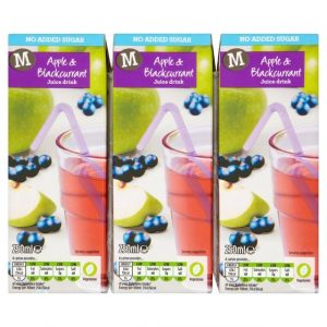 Morrisons Apple & Blackcurrant Juice s multi-0