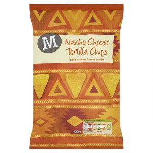 Morrisons Nacho Cheese Tortillas-0