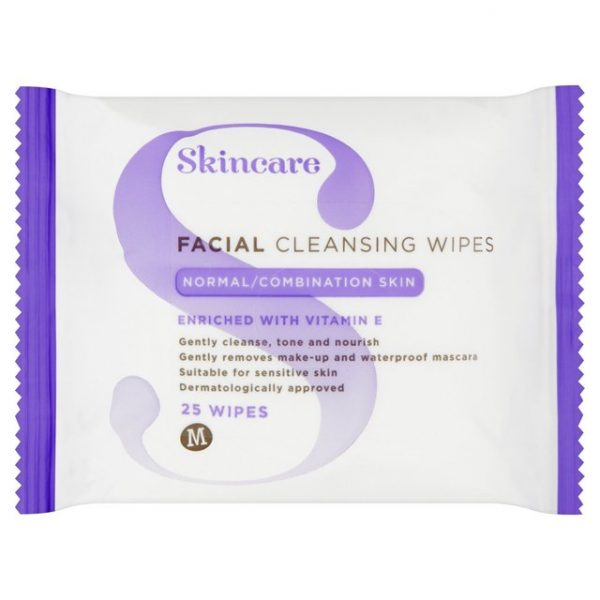 Morrisons Normal Combination Skin Wipes-15008
