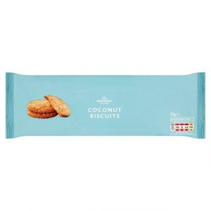 Morrisons Coconut Cookies 175g-0