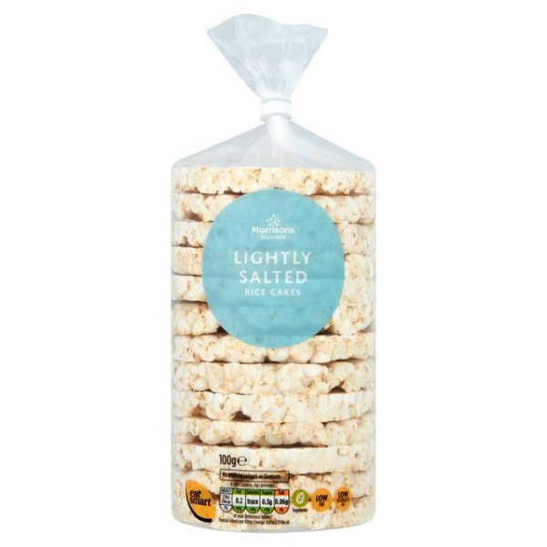 Morrisons Lightly Salted Rice Cakes 100g