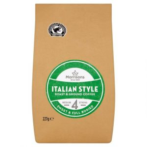 Morrisons Italian style Roast & Ground Coffee-0