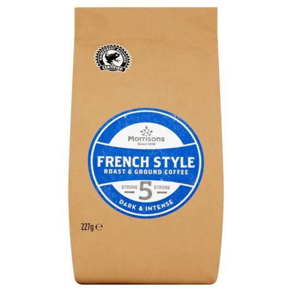 Morrisons French Style Roast & Ground Coffee 227g-17359