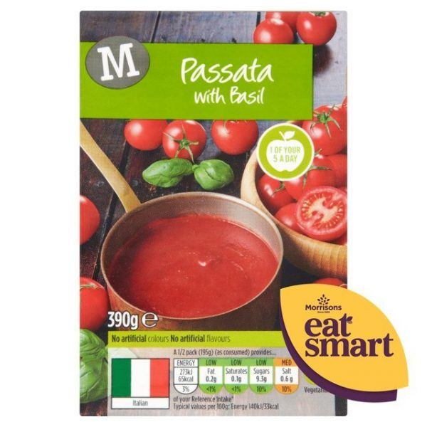 Morrisons Passata With Basil-17356