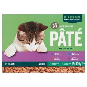 Morrisons Multipack Pate for Cats-0