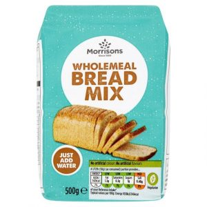 Morrisons Crusty Wholemeal Bread Mix-0