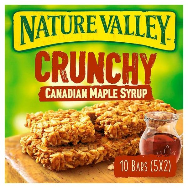 Nature Valley Crunchy Maple Syrup Bar-17156