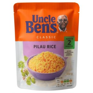 Uncle Bens vegetable Pilau Rice-0