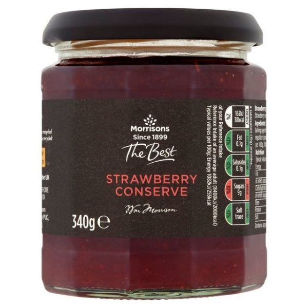 Morrisons The Best Strawberry Conserve-18123