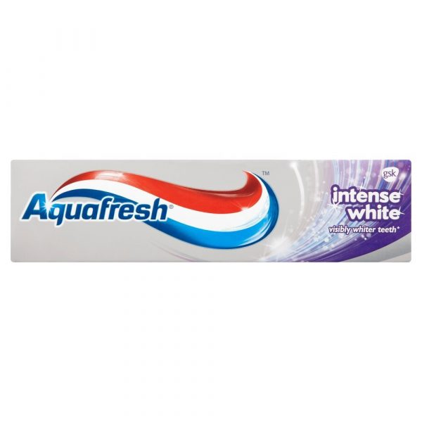 Aquafresh Intense and Shine