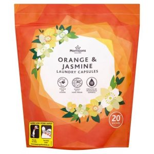 Morrisons Orange Laundry Capsules-0