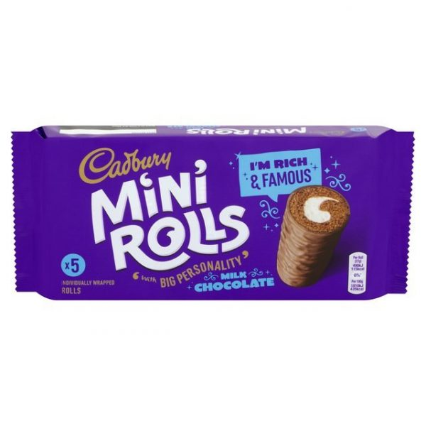 Cadbury Chocolate Mini Rolls-18955