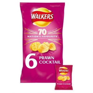 Walkers Prawn Cocktail Crisps-0