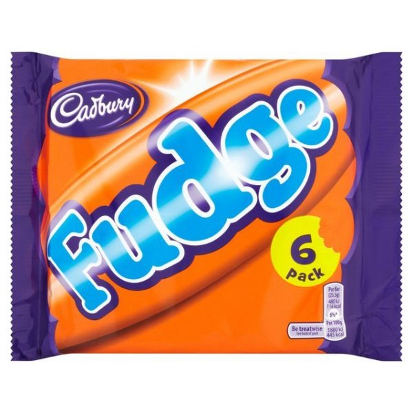Cadbury Fudge Bar Multipack-19206