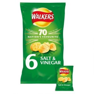 Walkers Salt & Vinegar Crisps-0