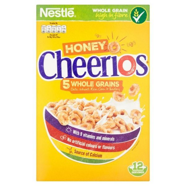Cheerios Honey Cereal-19582