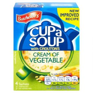 Batchelors Cup a Soup Cream of Vegetable with Croutons-0