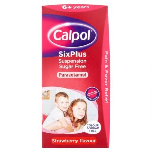 Calpol Junior Strawberry Liquid (Shipped from UK)-0