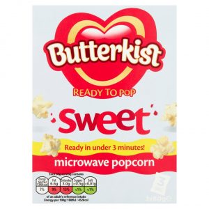 Butterkist Ready To Pop Sweet Microwave Popcorn-0