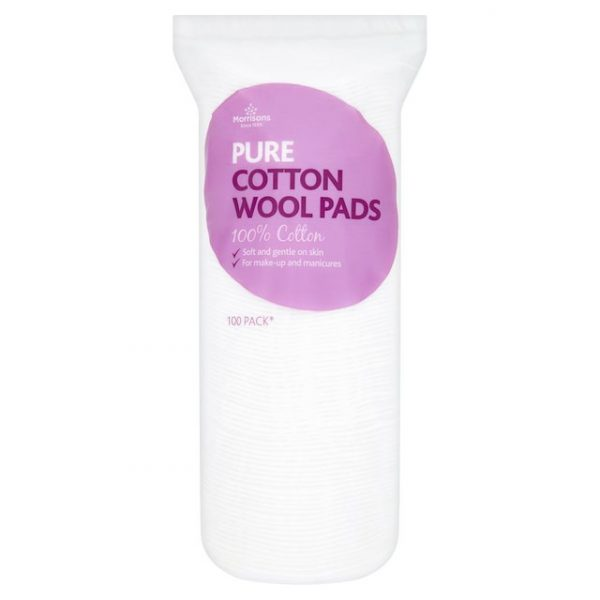 Morrisons Pure round Cotton Pads-0