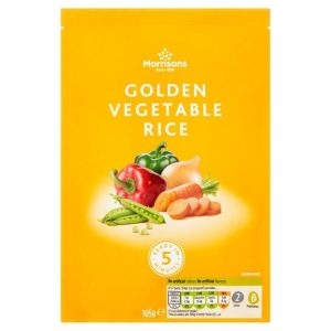 Morrisons Golden Vegetable Rice-0